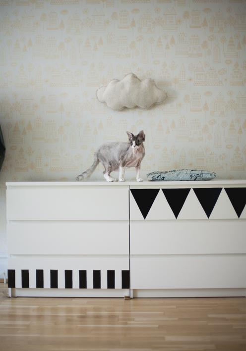 Ambiances color es 1 le noir 123 merveilles - Stickers meubles ikea ...