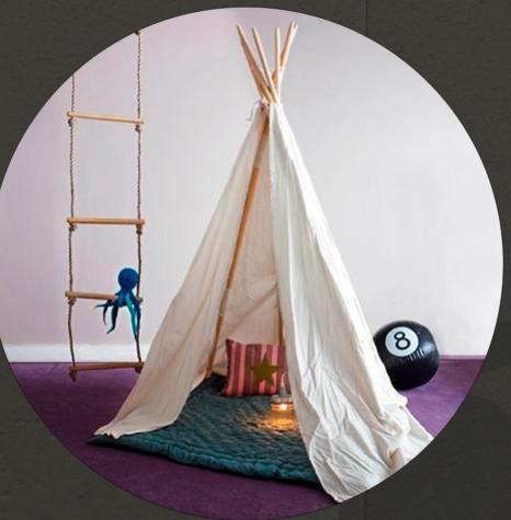 des tipis en veux tu en voil 123 merveilles. Black Bedroom Furniture Sets. Home Design Ideas