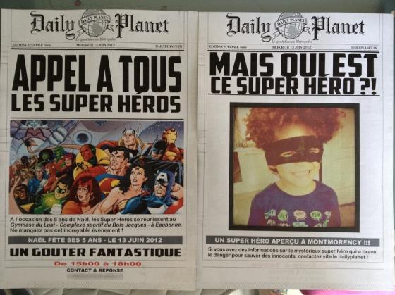 Une r union de super h ros pour les 5ans de na l 123 merveilles - Carte anniversaire super heros ...