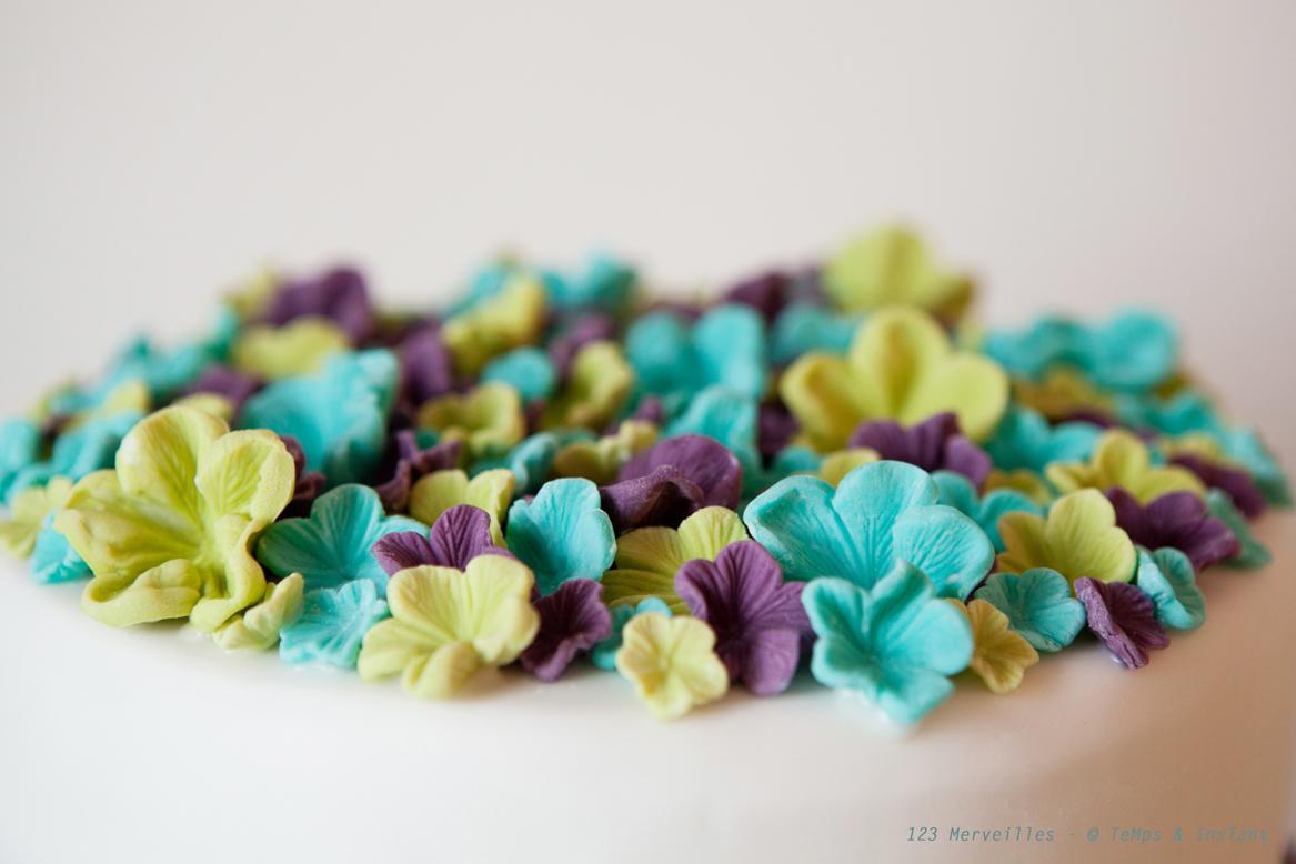 Gut gemocht fleurs en pate à sucre | 123Merveilles DY79