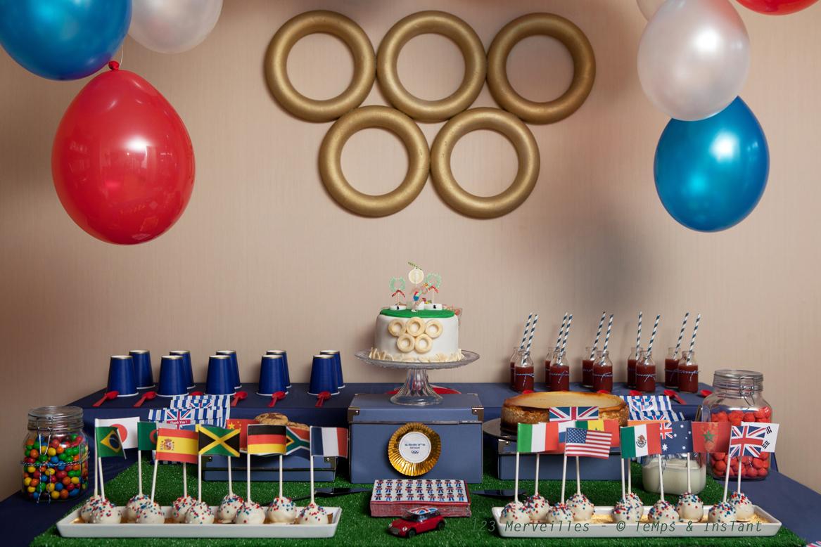 decoration anniversaire jeux olympiques
