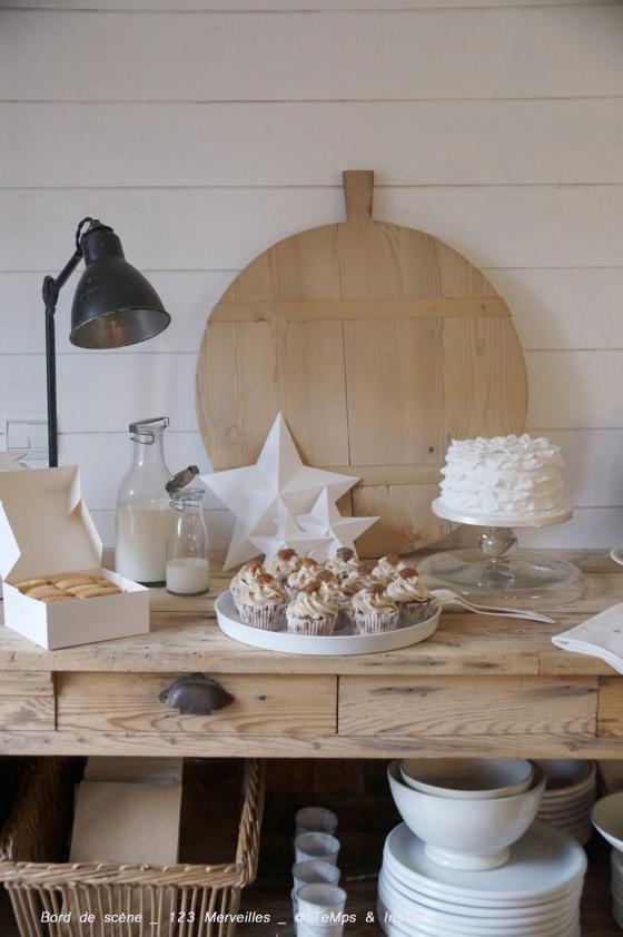 Sweet & broc table 123 merveilles et brod de scène