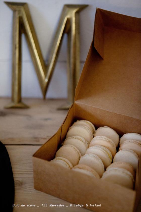 Macaron vanille 123 merveilles