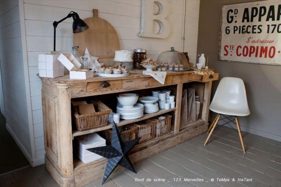 Sweet & broc table 123 merveilles  et bord de scène