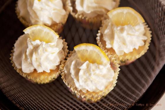 Cupcake citron jaune 123 merveilles