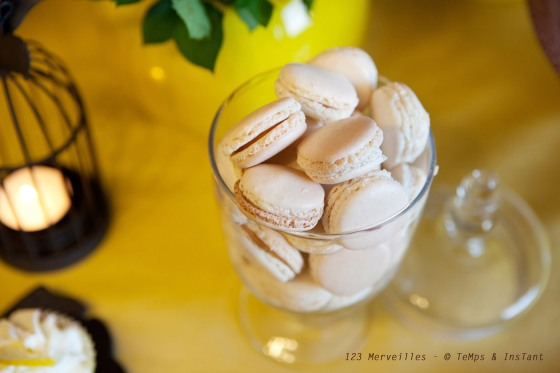 Macarons foie gras-passion 123 merveilles