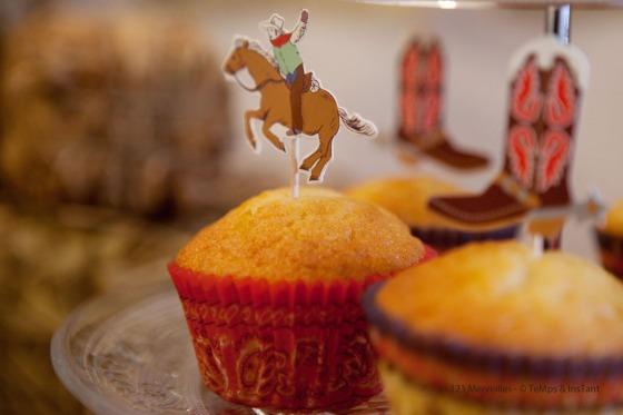 Cupcake vanille far west