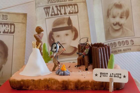Far West Cake 123 Merveilles