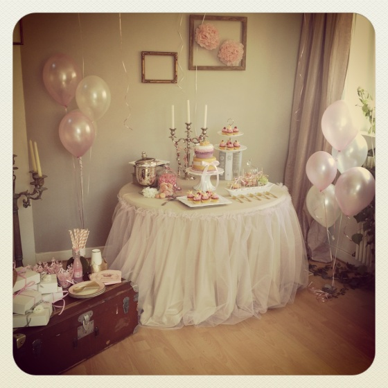 Sweet table princesse 123 Merveilles