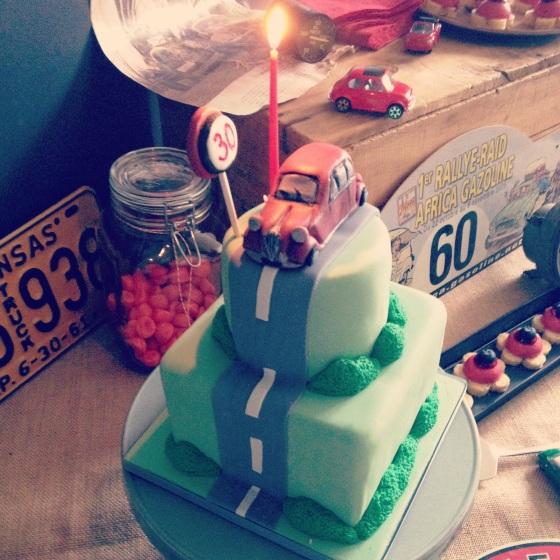 Wedding cake Voiture ancienne