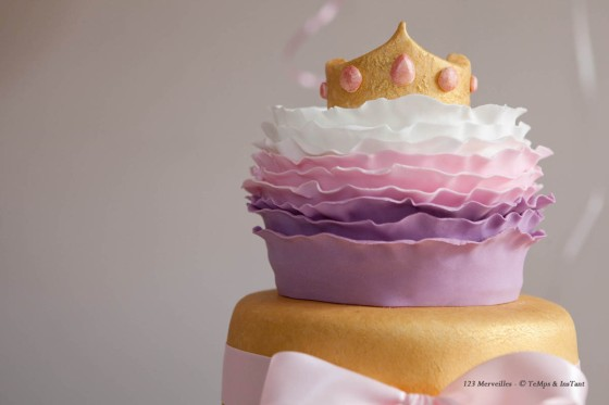 Wedding cake princesse