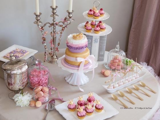 Sweet table princesse