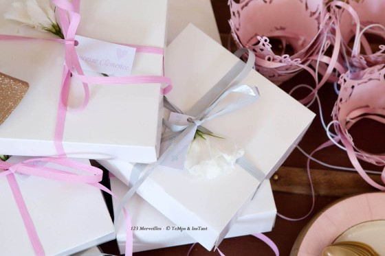 Boite cadeau invités