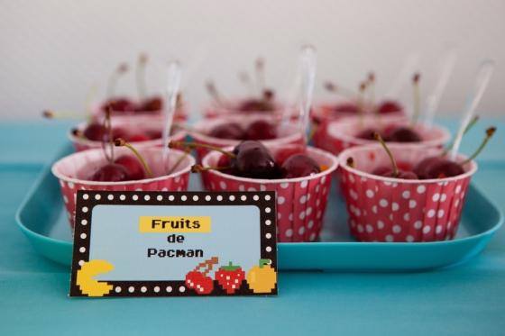 Coupe de fruits Pacman 123 Merveilles
