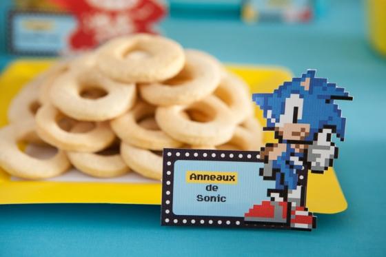 RIngs Cookies Sonic 123 Merveilles
