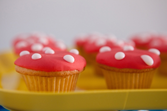 Cupcakes champignon 123 Merveilles