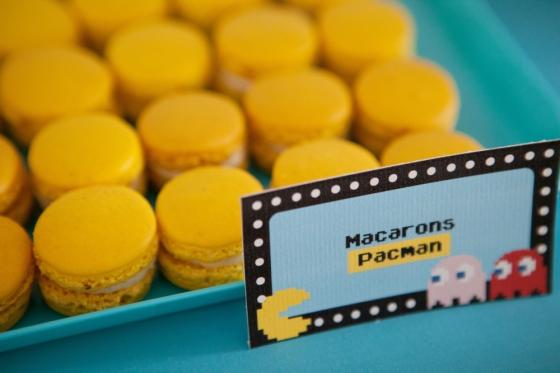 Macarons pacman retrogaming 123 Merveilles