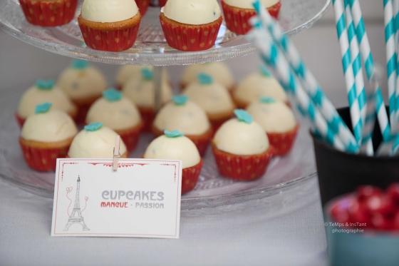 Cupcakes mangue passion