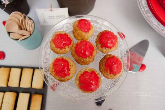Choux croustillant à la fraise