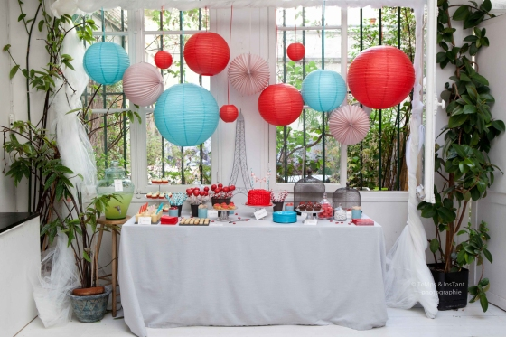 Sweet table Paris mon amour