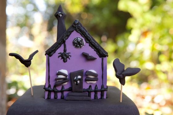 Wedding Cake Maison Hantée Halloween 123 Merveilles