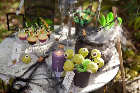 Pop cakes globuleux spécial halloween 123 Merveilles
