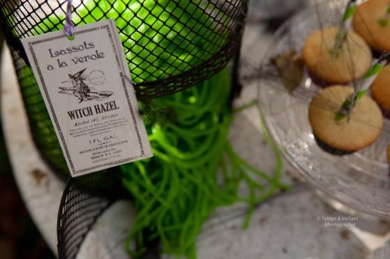 Bonbons Halloween lassot vert 123 Merveilles