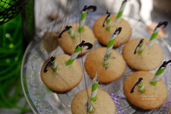 Cupcakes Sorcières Halloween