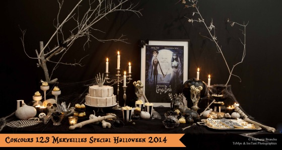 Photo sweet table Halloween 2014 - Concours facebook