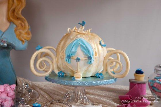 Wedding cake Carosse Cendrillon 123 Merveiilles